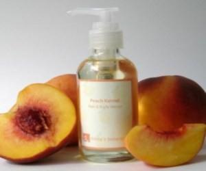 натуральное средство для волос персиковое масло