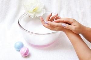 ванночки для рук с крахмалом