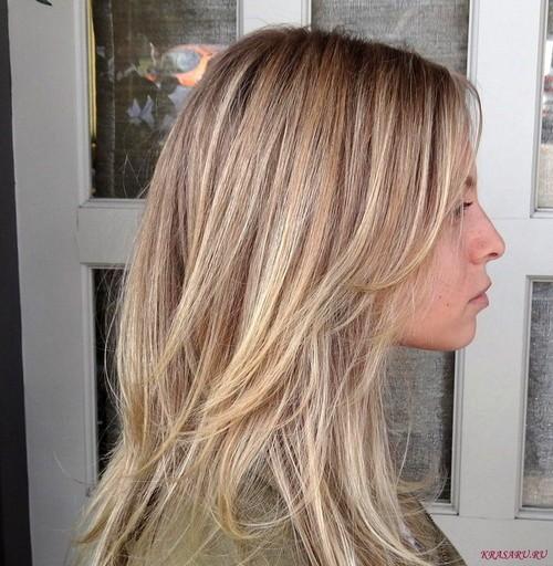 Как делать колорирование волос фото до и после