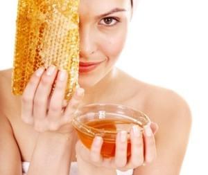 мед и сухая кожа