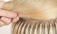 наращивание волос на короткие волосы фото