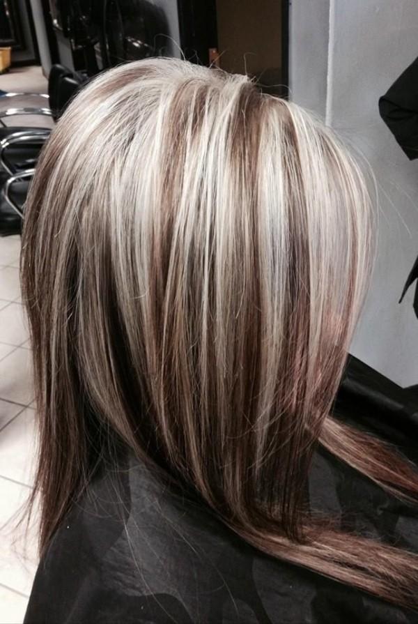 Покраска волос в два цвета как называется