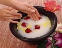ванночки для нежных рук в домашних условиях