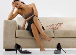 помощь уставшим ногам