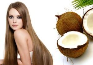 сила кокосового масла для волос