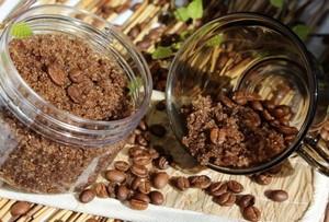 рецепты приготовления скраба из кофе