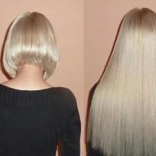 У вас короткие волосы, но именно сегодня захотелось длинные? Не проблема - спасет наращивание волос!