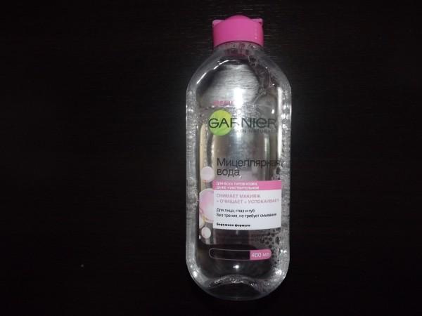 мицелярная вода гариниер