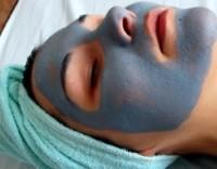 голубая глина применение для лица