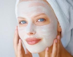 маска для лица с крахмалом