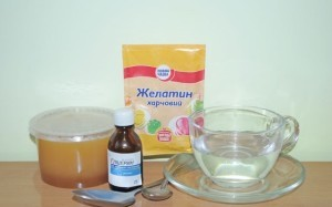 желатин с глицерином